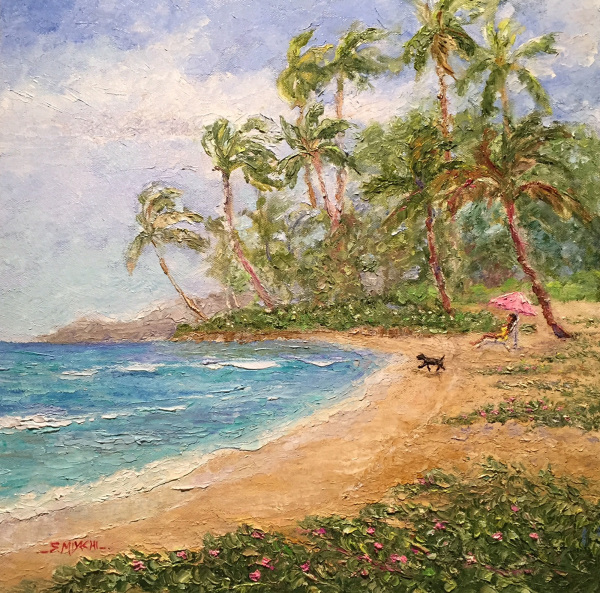 Morning Glory Beach Susan Miyachi