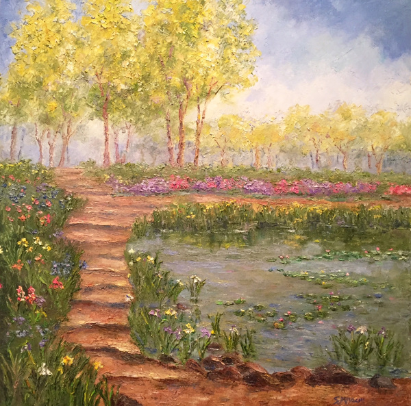 Step into My Garden Susan Miyachi