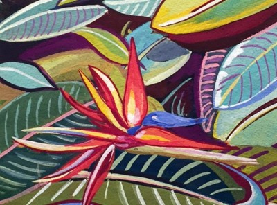 Bird of Paradise Miriam Zora Engel