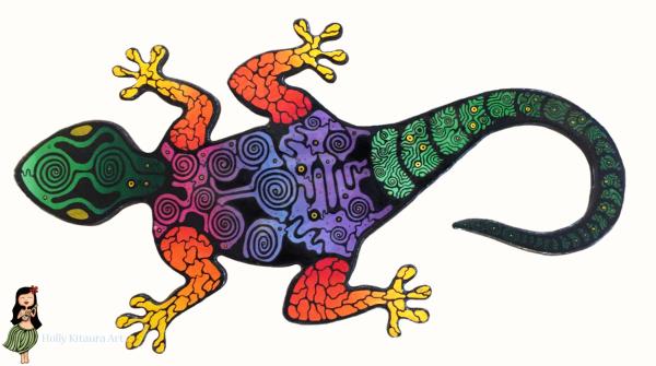 Gecko Holly K original
