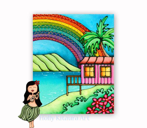 Rainbow Hale Holly K giclee