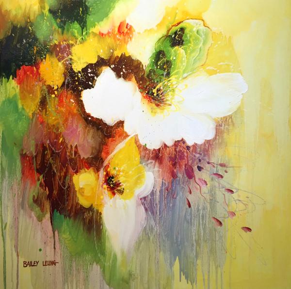 Yellow Abstract Bailey Leung