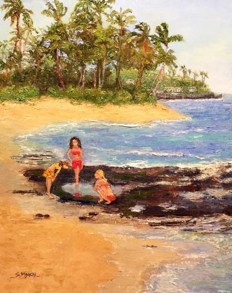 Children Exploring Reef Susan Miyachi