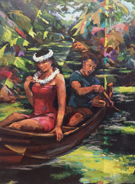 Canoe Serenade Mark Howard SOLD
