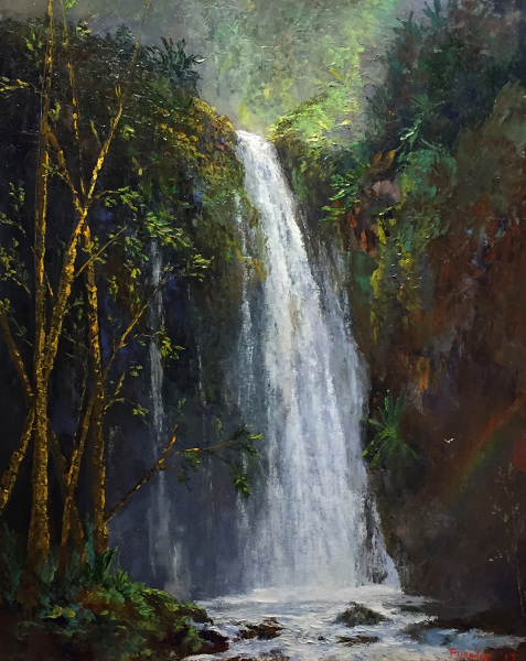 Manoa Falls Oahu Ed Furuike