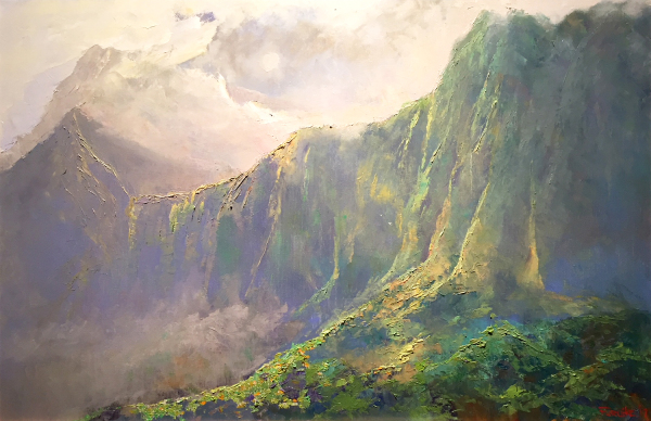 Kaneohe to Nuuanu Pali Ed Furuike
