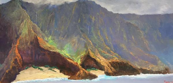 Morning Mist Na Pali Kauai Ed Furuike