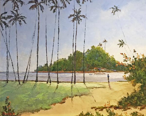 Morning Sun Hilo Bay Ed Furuike