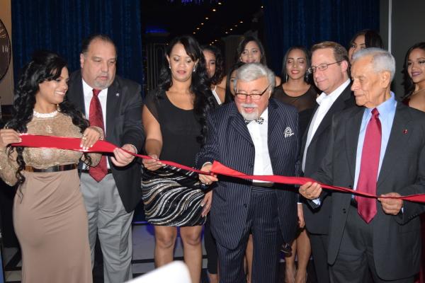 Ribbon Cutting Of                               Nuestra Reina Latina USA 2017