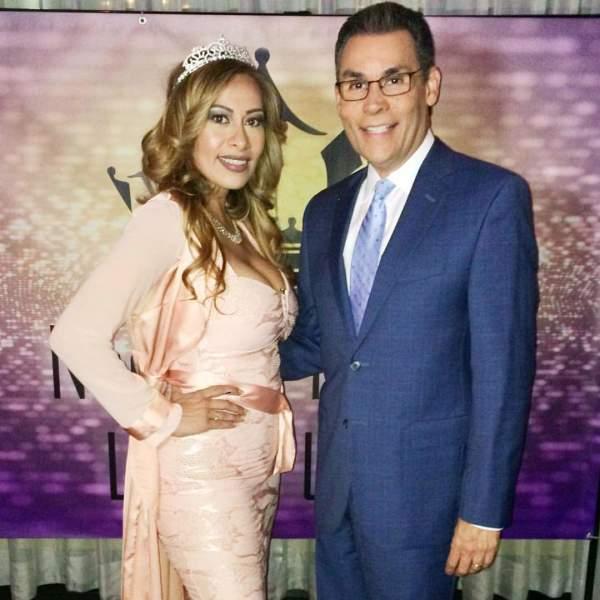 Sr. Jorge Ramos de Noticiero Telemundo y Eva Durango Colaboradora