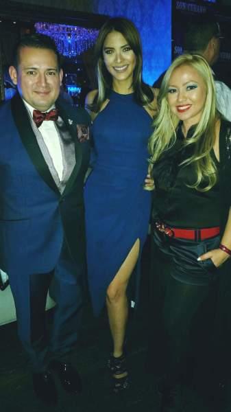 Gran Amigo Jaime Solanos ,Audris Rijo de Acceso Total y La bella Karol Santana