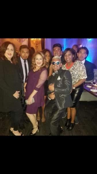 La Maestra de Ceremonia Sra. Nury Antigua el Promotor Fernando Bernierd y los invitados