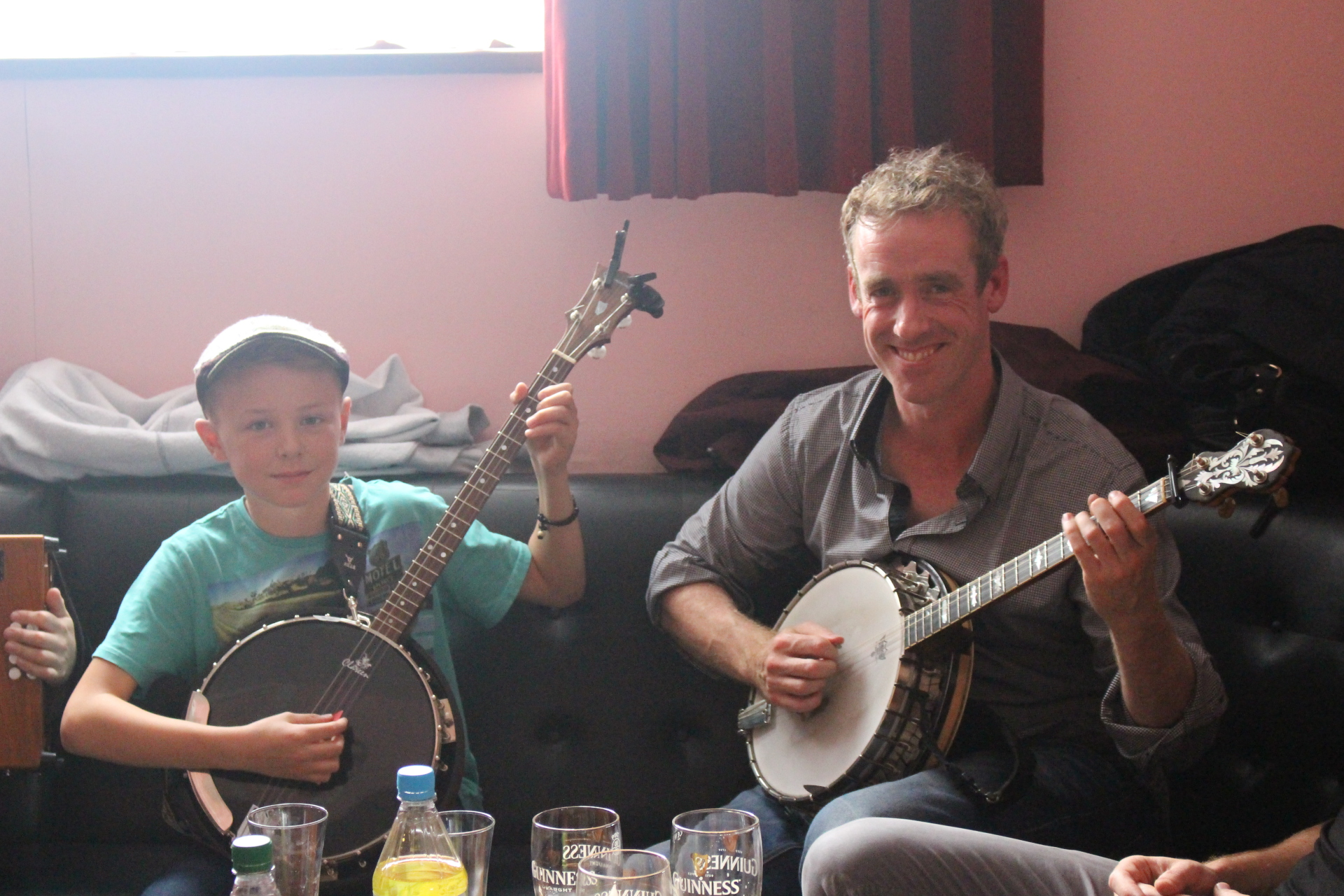 Finn & Garry O'Meara rippin into the tunes in Mullagh