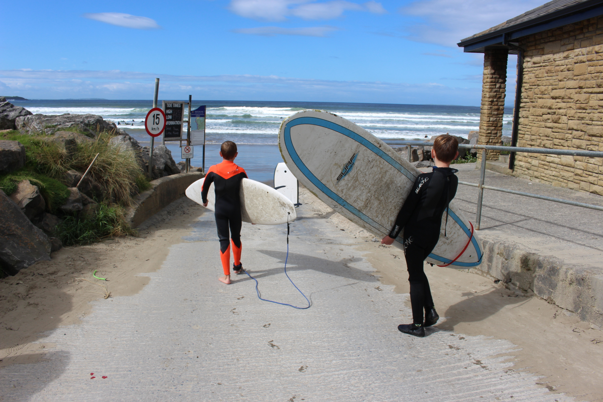 Going Surfing in Rossnowlagh