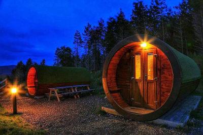 Cosy Camping in November