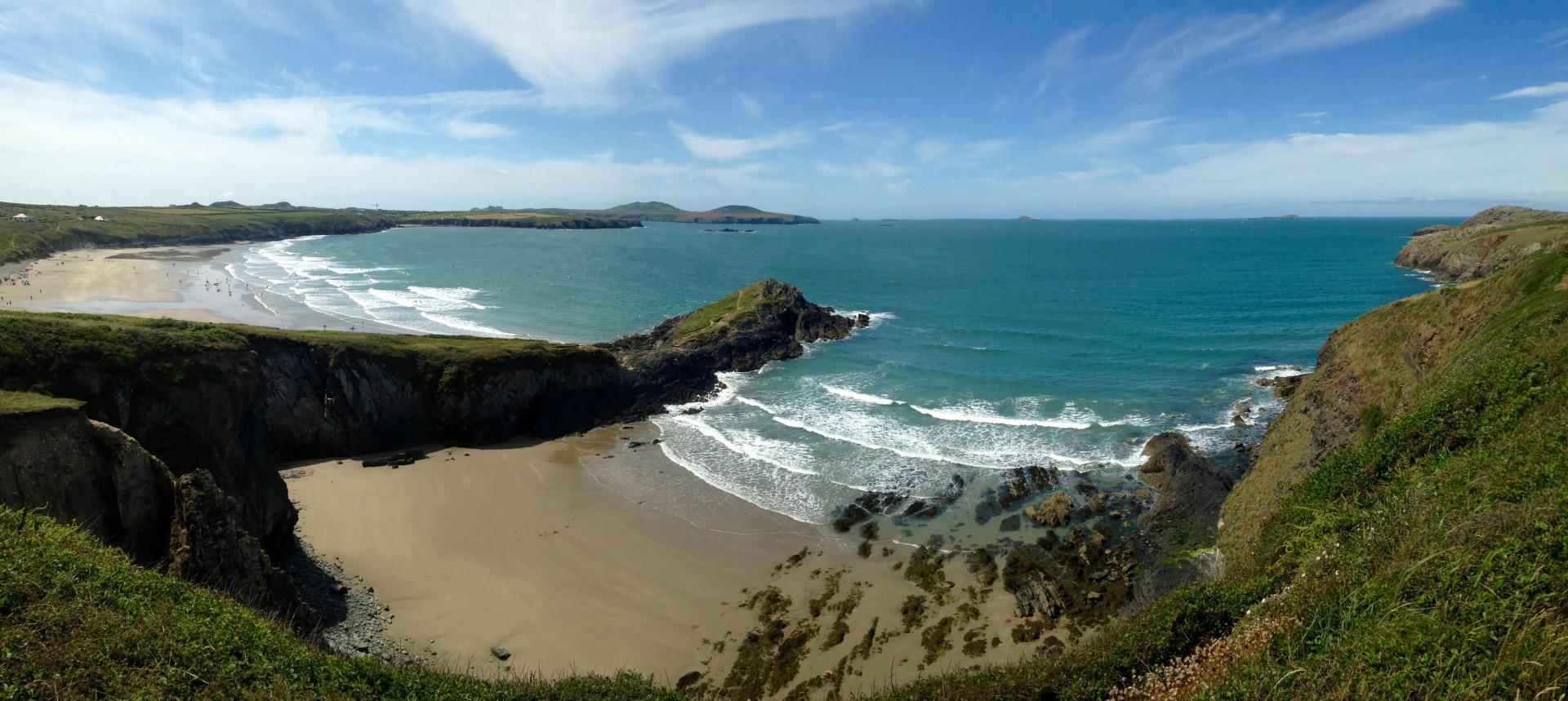 Whitesands Bay, Wales,