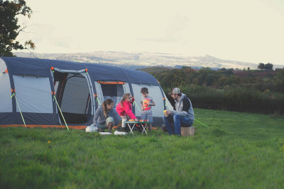 Inflatable tents - a breath of fresh air!
