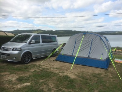 OLPRO's Cocoon Breeze Camper Van Awning really is a 'Breeze to live with.'