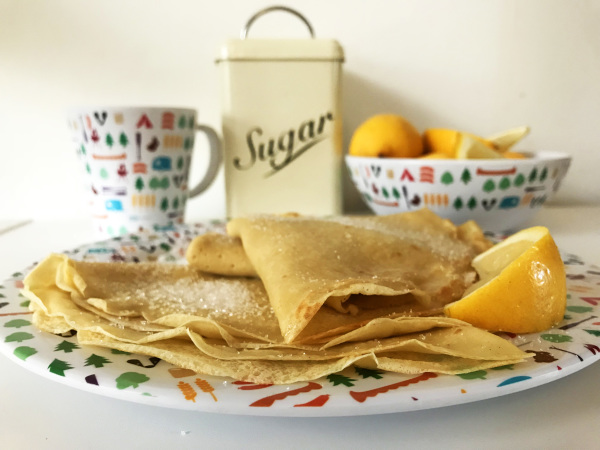 Pancakes - the ideal camping breakfast.