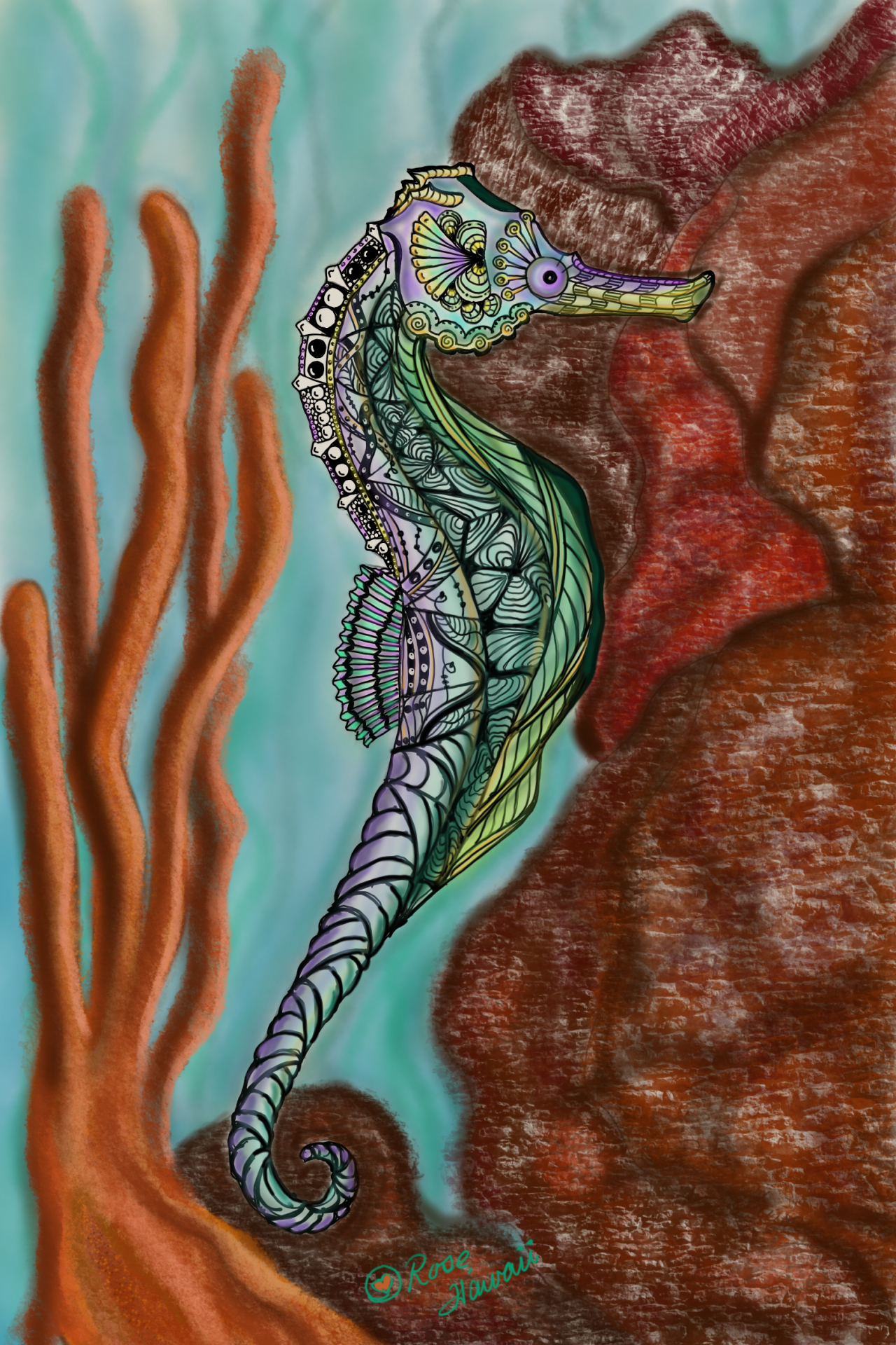 Hawaiian Seahorse C