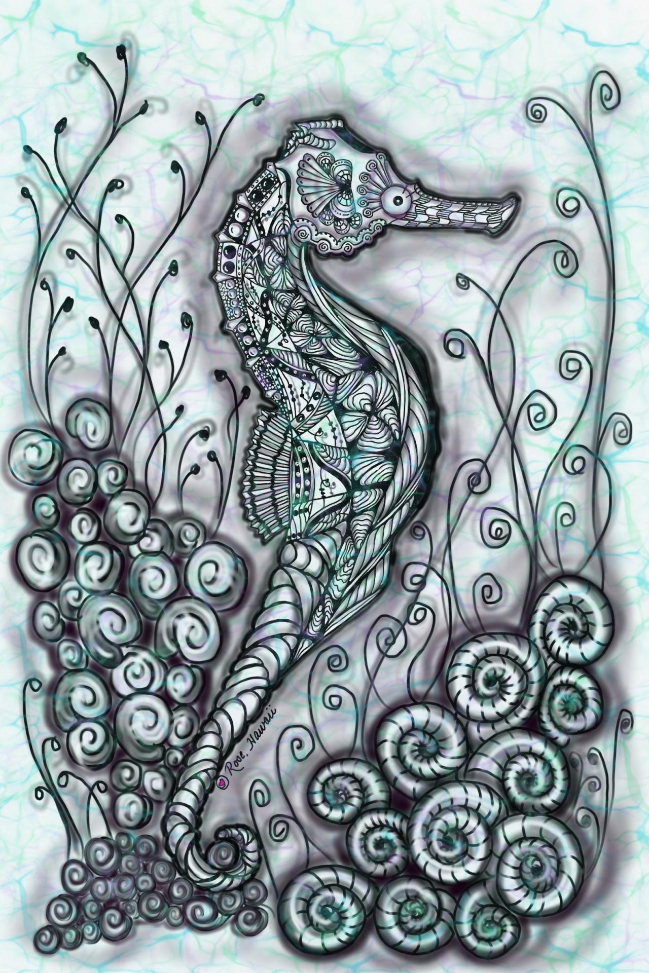 Hawaiian Seahorse E