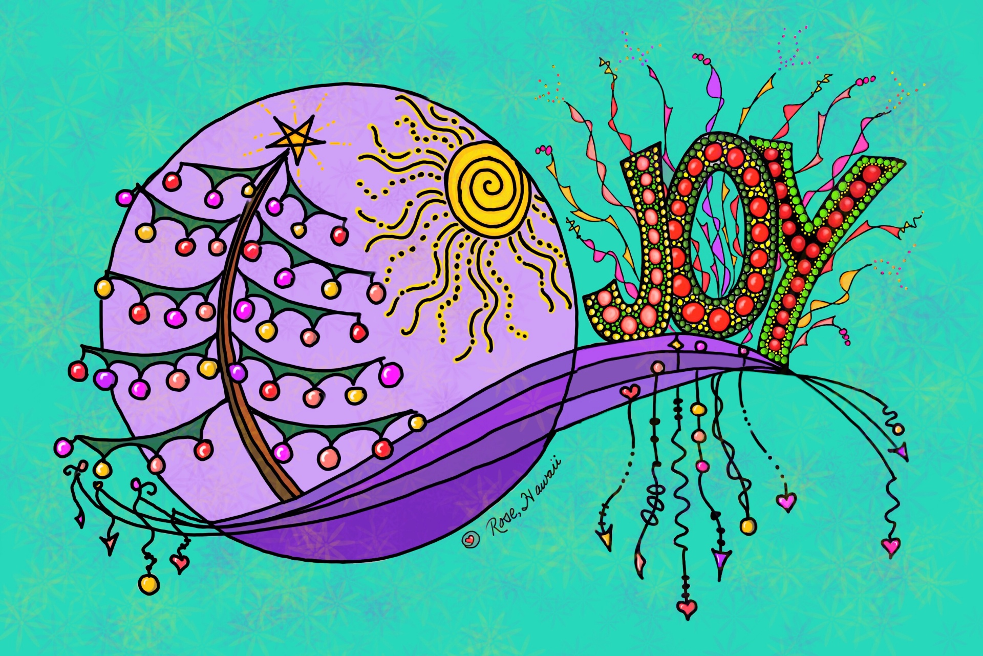 Zentangle/Zendangle Holdiay Joy!