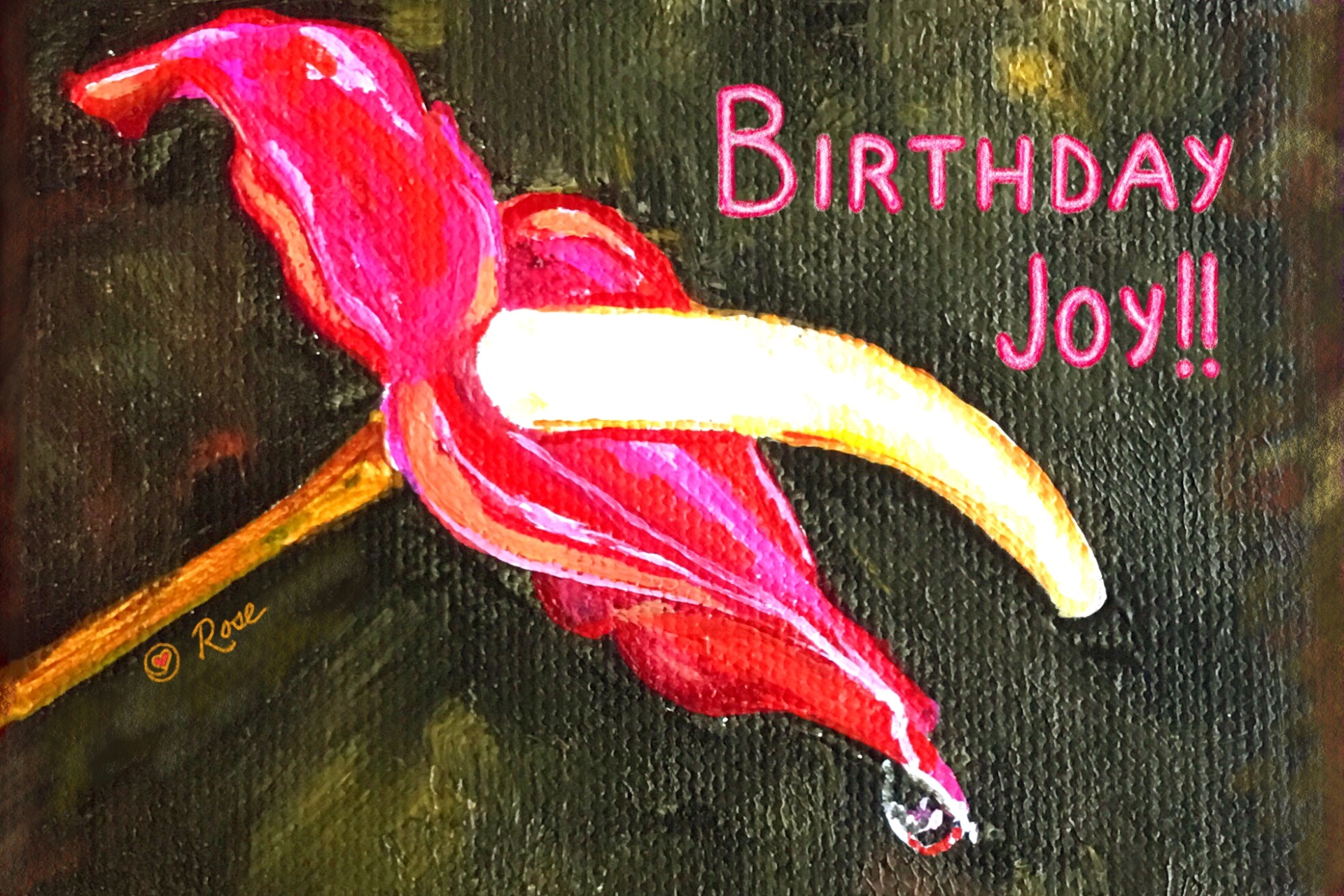 Birthday Anthurium 2