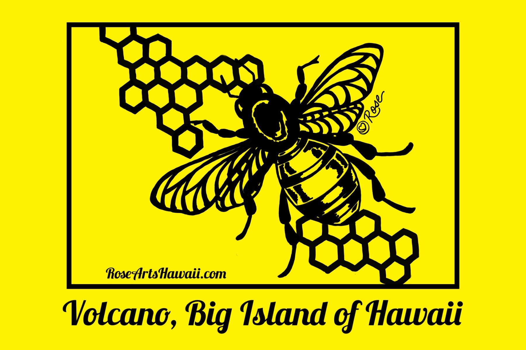 Hawaiian Honey Bee