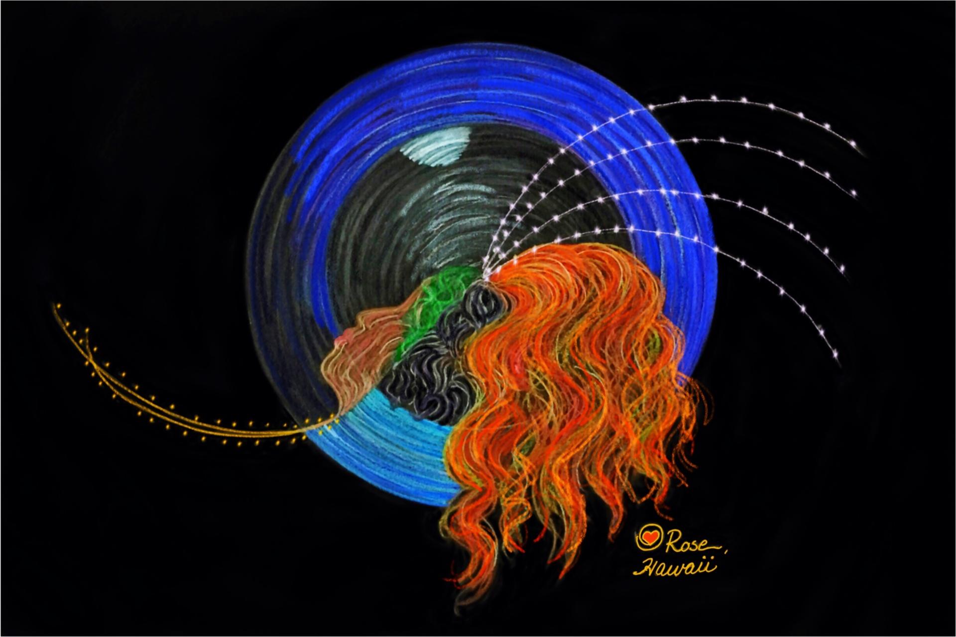 Intuitive Goddess Pele Creation energies