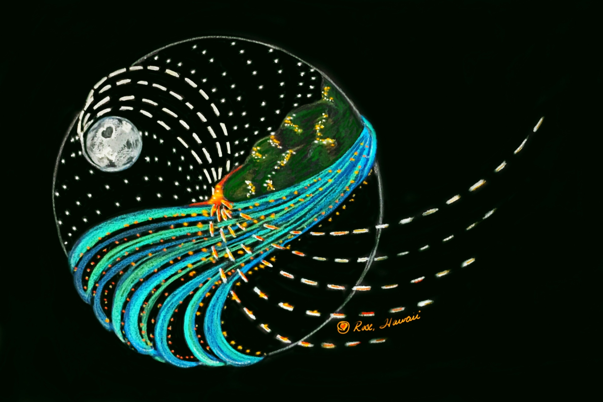 Intuitive Hawaiian energies in the Universe