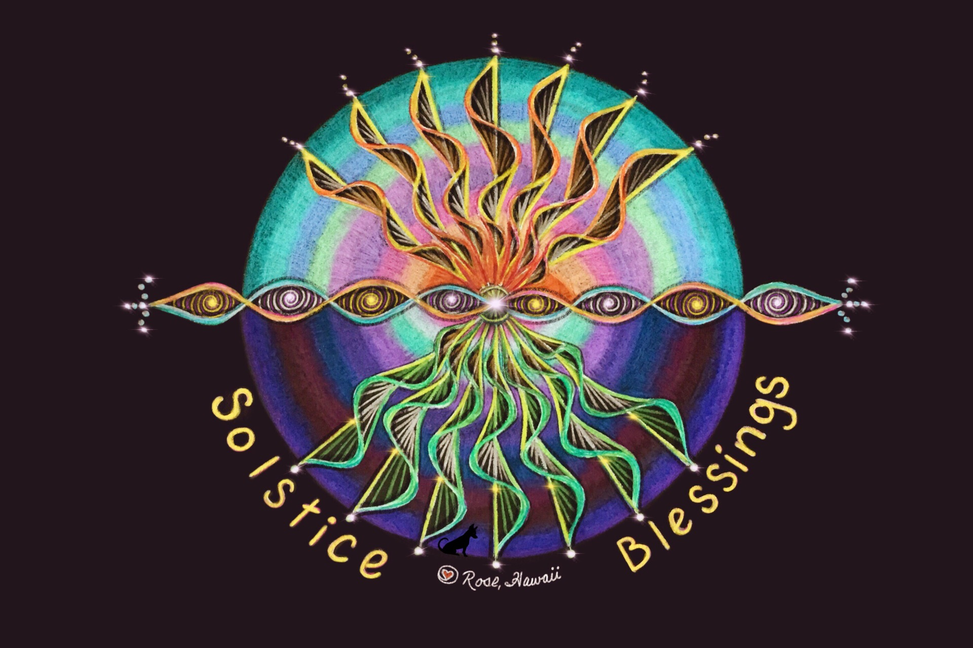 Solstice Blessings Light/Dark Balance