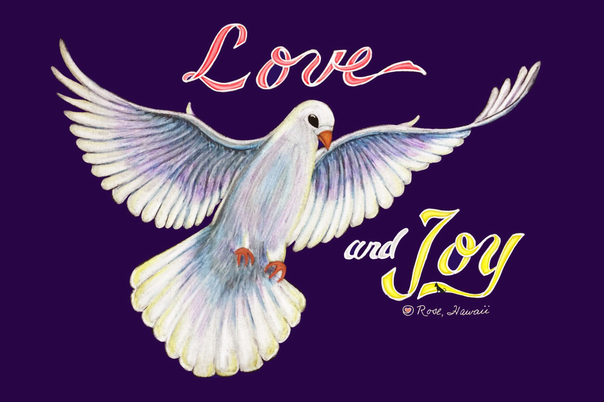 Love and Joy Dove