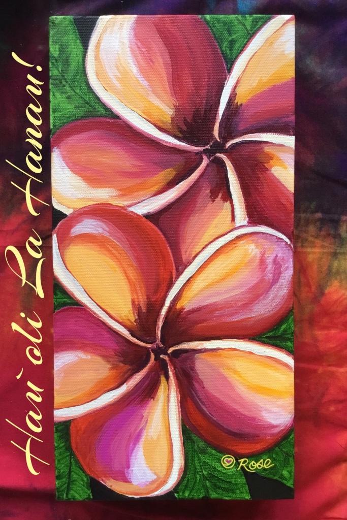 Hawaiian Birthday Plumeria 2