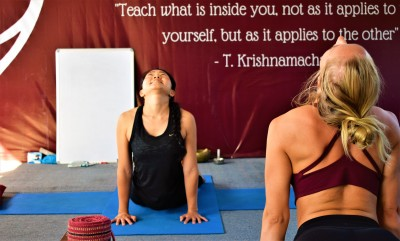 Banjaara Yoga students during their 200Hr Yoga Teacher Training
