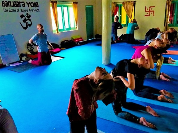 yoga course in India - Yoga for back pain
