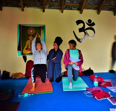 Moon Salutation Yoga teacher training Dharamsala