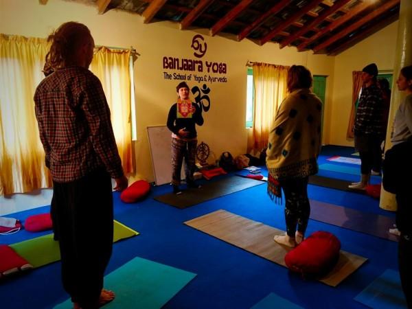 Yoga course in India - Chakra Balancing Yoga Class