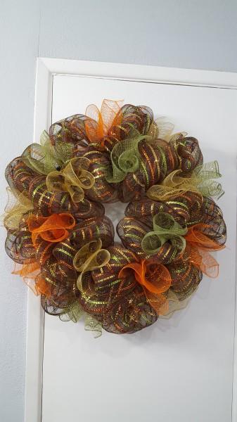 Autumn Colored Ruffles