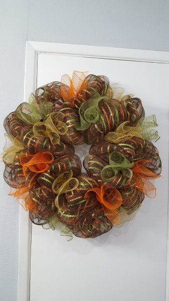 Autumn Colored Ruffles