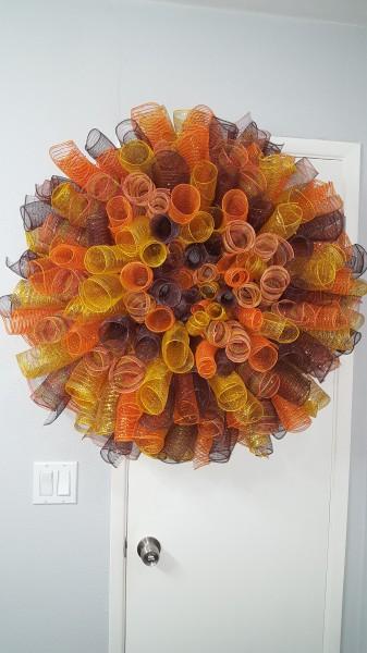 Large Autumn Spiral