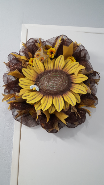 Sunflower - Bee