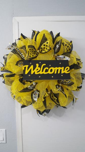 Bee Wreath