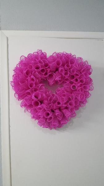 Pink Spiral Heart