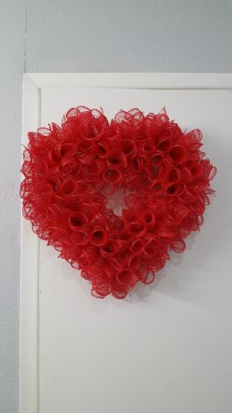 Red Spiral Heart