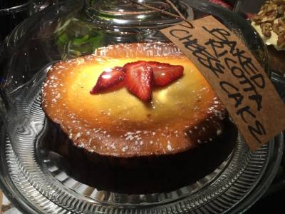 Baked Ricotta Cheese Cake