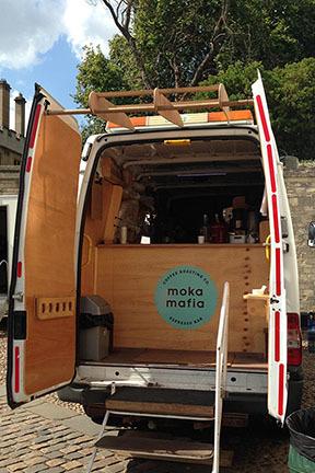 Moka Mafia Van Entrance