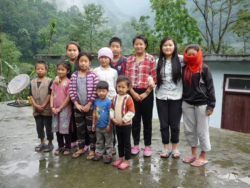 2016: Children at Mayel Lyang Academy, Dzongu