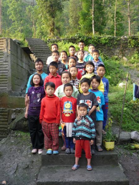 2013: Children at Mayel Lyang Academy, Dzongu
