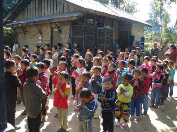 2013: Assembly at Sikkim Himalayan Academy