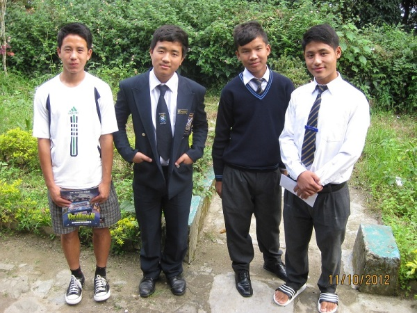 2012: The boys at Dr Graham's Homes school